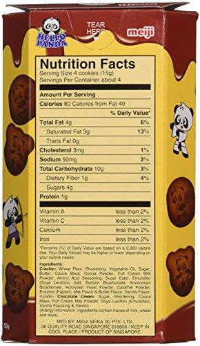 Meiji Hello Panda Double Chocolate Creme Filled Cookies, 1.74 Ounce by Meiji (Image #1)
