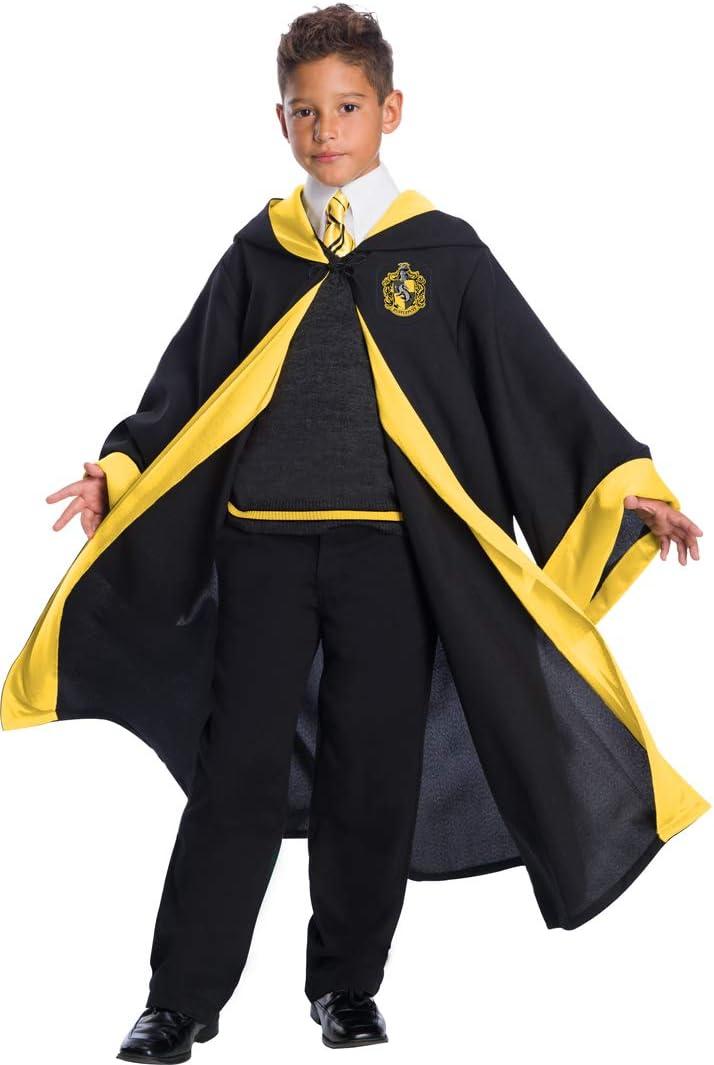 Amazon.com: Charades Hufflepuff - Disfraz de estudiante para ...