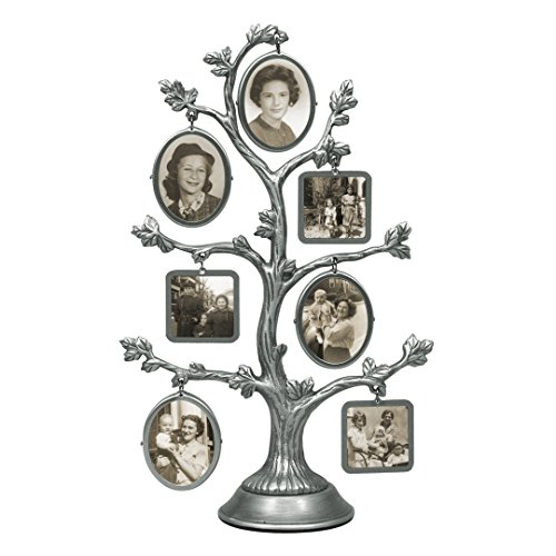 Malden International Designs Family Tree Fashion Metal Pictu