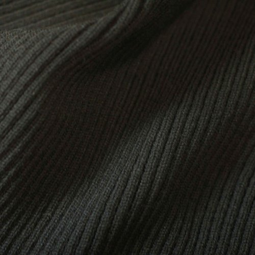 (Neotrims Chunky Thick Stretch Knit Trimming Ribbing for Garments, Cuffs, Bomber Jackets, Waistbands and Welts. Medium Chunky Weight. Resilient Soft Natural Feel, 2x1 Ribbed Surface. Available in Navy, Black, Burgundy,)