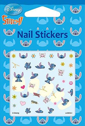 Disney Nail Art stickers Cartoon Decoration Mix 4-Pack (Stitch & ()