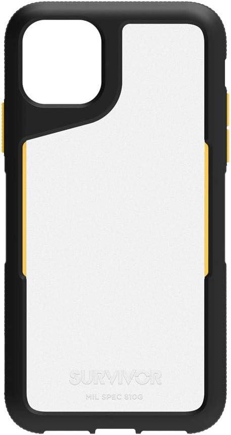 Griffin Survivor Endurance Gip-034-Bct for Apple iPhone 11 Pro Max - Black/Citrus