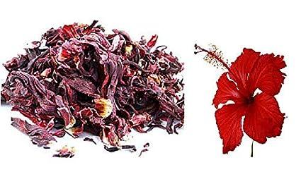 Herboleaf Organic Hibiscus Flower Dry Hibiscus Sabdariffa 400 Gram