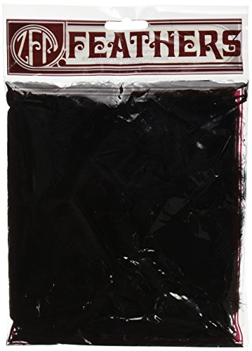 Zucker Feather Products Loose Turkey Flats Dyed Feathers, 4-6