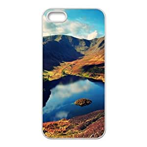 Beautiful Designed With landscape Theme Phone Shell For iPhone 5,5S