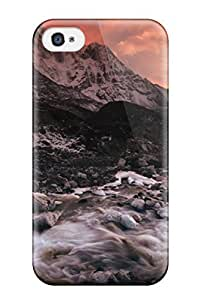 Excellent Design River Flowing From The Mountain Case Cover For Iphone 4/4s