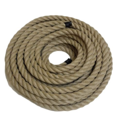 RopeServices UK 10Mts X 20Mm Decking Rope,Poly Hemp,Hempex,Boat,Diy.