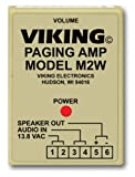 Viking Electronics Paging Power Amp w/25AE Paging Horn Inc.