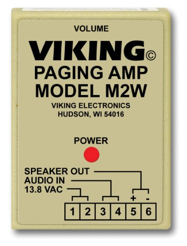 Viking Paging System - Viking Electronics Paging Power Amp w/25AE Paging Horn Inc.