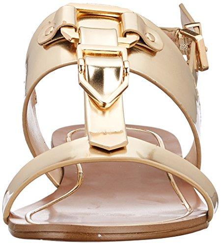 Aldo gold Femme Sandales Cheville Bride Afiarien Or rgq7rY