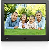 Digital Picture Frame 8inch Electronic Digital Photo Frame IPS 4:3 1024x768 Display with HU Motion Sensor 1080P 720P Video Player Stereo/MP3/Calendar/Time