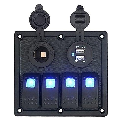4 rocker switch panel - 9