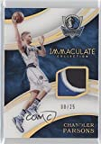 2015-16 Panini Immaculate Collection - Patches - Jersey Number #PJ-CPR - Chandler Parsons