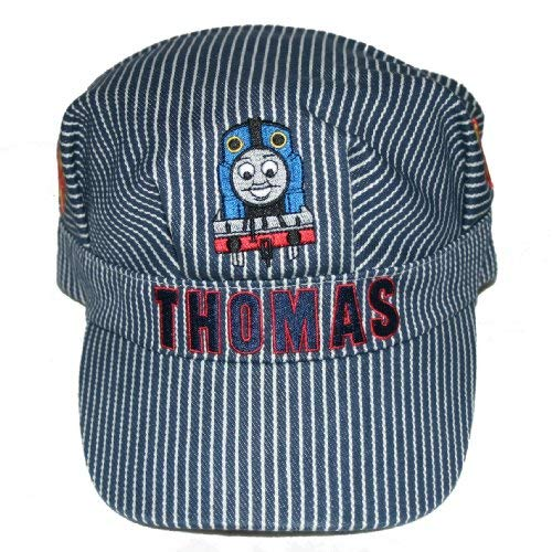 THOMAS & FRIENDS CHILDREN BLUE & WHITE STRIP ENGINEER CAP