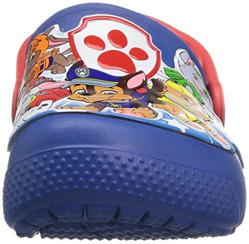 Blue 9 Crocs Kids Size Patrol Slip Clog Jean blue Croslite On Paw Fun Lab 9 gzHZTgq