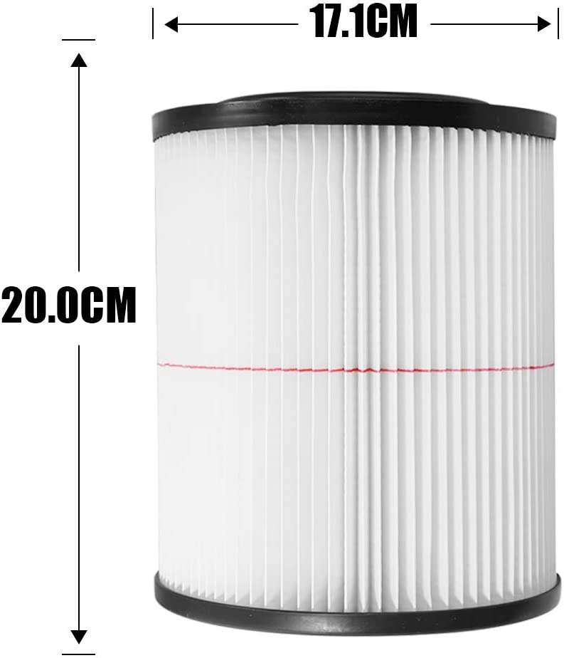 Aynaxcol Filter Replaces for Shop Vac Craftsman 17816 Rigid VF4000 Husky 6-9 2-Pack