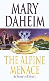 Front cover for the book The Alpine Menace by Mary Daheim