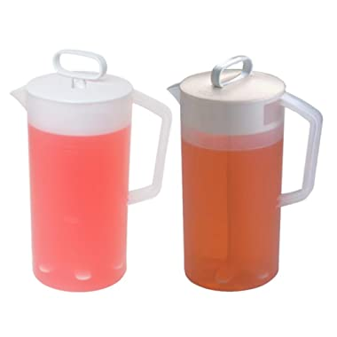 Rubbermaid Servin Saver White Mixing Pitcher 2 Qt. (Set of 2)
