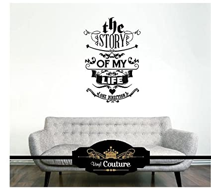 The Story Of My Life. One Direction Vinyl Wall Art vinyl wall ...