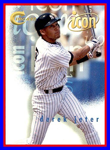 1997 Circa Icons #4 Derek Jeter New York - Circa Icon
