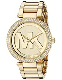 Michael Kors Parker MK5784 Women's Wrist Watches, Gold Dial