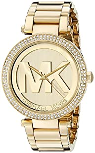 Michael Kors Women's MK5784 Parker Gold-Tone Stainless Steel Watch