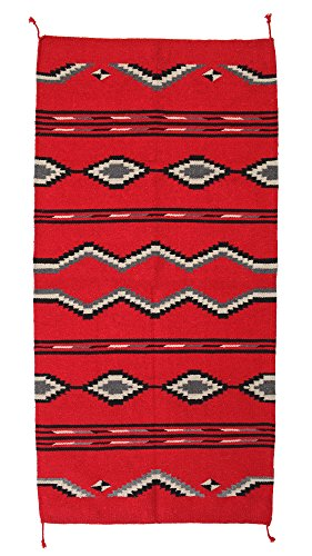 (El Paso Designs Hand Woven Southwest Style Accent Rug, 20