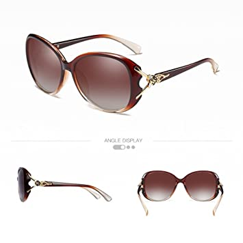 Marcus R Caveggf Gafas de Sol polarizadas de Las Mujeres de ...