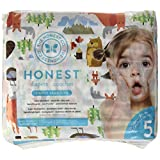 The Honest Company into the wild limited edition Disposable diapers, Canadian print, size 5, 25 Count