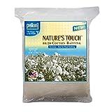 Pellon Nature's Touch Natural Blend 80/20 Batting, No Scrim - Queen 96'' X 108''