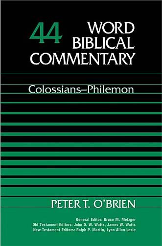 Word Biblical Commentary Vol. 44, Colossians-Philemon (Commentary Biblical Word Cd)