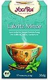 Yogi Lakritz Minze Tee BIO 6 Packungen à 17 Teebeutel