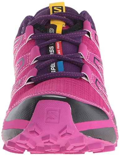 Salomon Speedcross Vario Womens Trail Running Shoes Deep Dahlia/Black/Cosmic Purple IVQ5jHG
