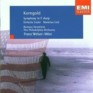 Symphony in F Sharp Op 40 / 4 Simple Songs