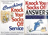 img - for Knock Your Socks Off Service 5 Book Set - Includes Delivering, Sustaining, Coaching, Managing and Answers Books book / textbook / text book