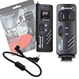 Fotodiox Aputure Pro Coworker Wireless Remote Shutter Cable Release for Panasonic Lumix DMC-G1, G2, G3, G10, GX1, GH1, GH2, GF1, DMC-L1, L10, DMC-FC100, FZ150, Fully Compatible with Panasonic DMW-RSL1, DMW-RS1