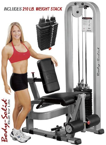 Body Solid  Leg Extension with Weight Stack