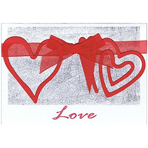 Hanging Hearts Card - Fair Trade & Handmade Sales