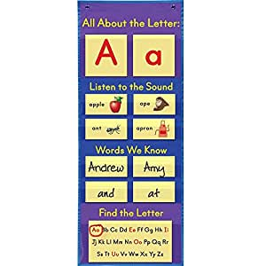 Amazon.com: All About Cartas Pocket Chart: Home & Kitchen