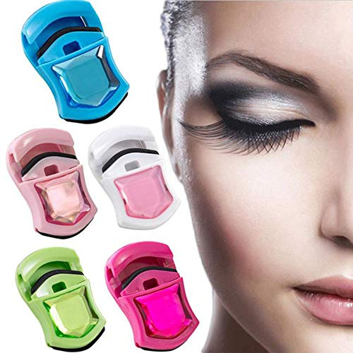 (IETONE Set of 5 Eyelash Curler - No Pinching or Pulling, Curled Cosmetic Makeup Accessory for All Eye Shapes)