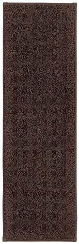 Mohawk Home N2737 9681 4P0929 4 Piece Vista Stair Tread Set, Chocolate, 0'9 x ()