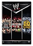 WWE: Triple Threat Collection: Greatest Superstars of the 21st Century / Allied Powers: The Worlds Greatest Tag Teams / Top 50 Superstars of All Time