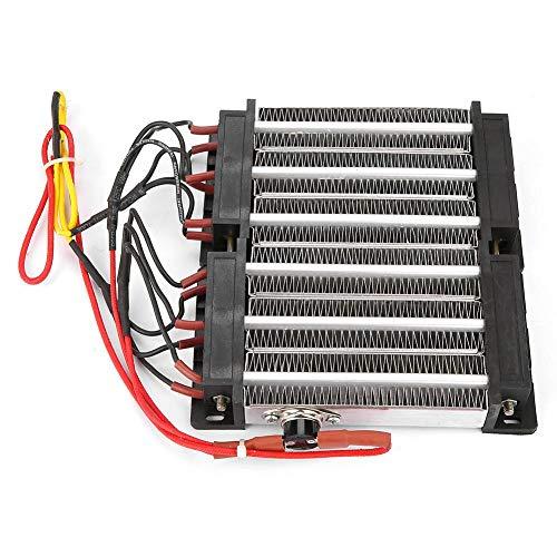 PTC Ceramic Air Heater, 1500W Insulated PTC Ceramic Air Heater PTC Heating Element DIY Heating Tools 110V/220V ()
