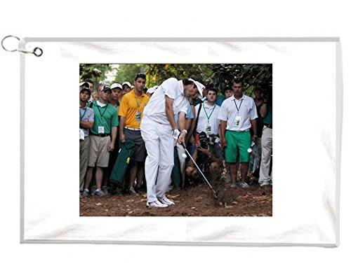 Bubba Watson Winningマスターショットノベルティゴルフタオルゴルファーアクセサリークリーニングツール   B01NCTXIH3
