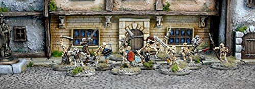 Blighthaven - Skeleton Warband (12) (15mm scale) (Ral Partha Europe