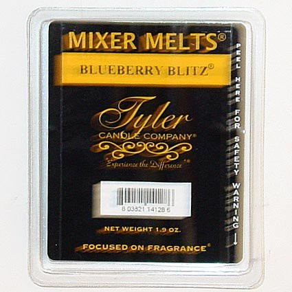 1 X Blueberry Blitz Scented Mixer Melt by Tyler Candle