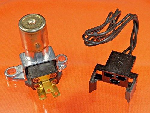 Buick Skylark Dimmer Switch (75-83 Grand LeMans Headlight Floor Dimmer Switch & Harness Kit #945)