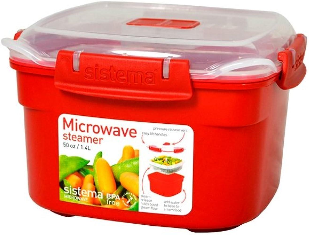 Sistema de fiambreras para comida cocinar al vapor en microondas ...