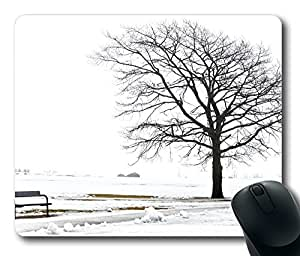 A Bench And A Tree Mouse Pad Desktop Laptop Mousepads Comfortable Office Mouse Pad Mat Cute Gaming Mouse Pad by mcsharks