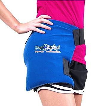 Amazon.com: COOL Socorro Soft Gel Hip Hielo Wrap: Health ...